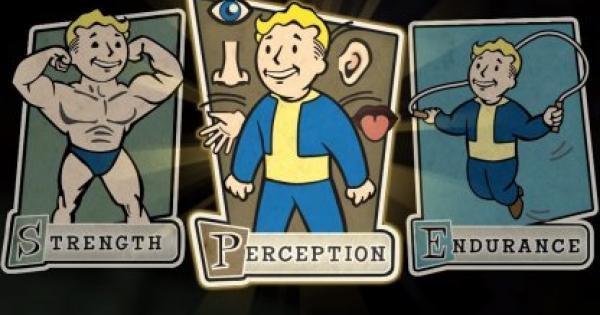 Fallout 76 | Perception Perk Card List - Stats & Tips