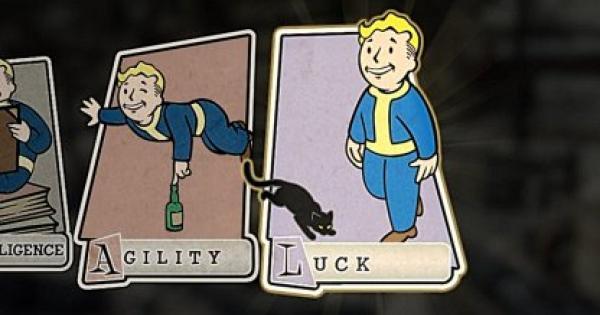 Fallout 76 | Luck Perk Card List - Stats & Tips