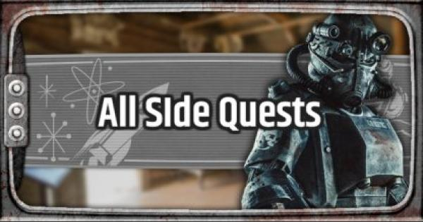 Fallout 76 | Side Quests - Guide & List