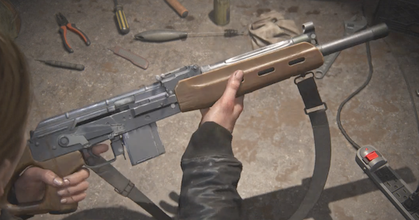 Last Of Us 2 | Semi-Auto Rifle Guide - Upgrades & Location - GameWith
