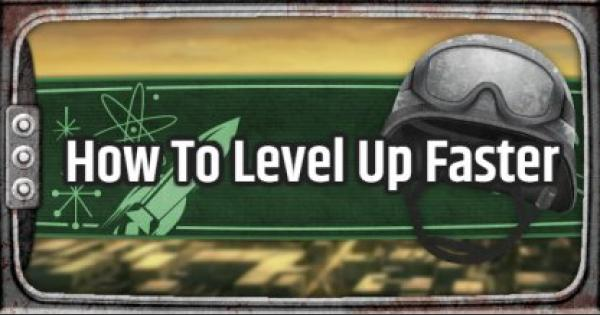 Fallout 76 | How To Earn XP And Level Up Fast