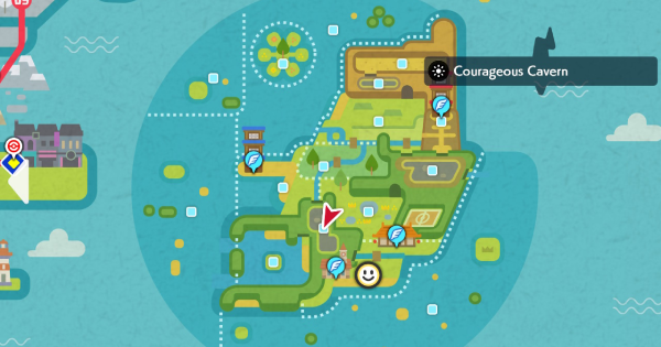 "Isle Of Armor | Courageous Cavern (Wild Area) - Pokemon Spawn Location | Pokemon Sword and Shield →Include ""Isle Of Armor"" in Si/Desc - GameWith"