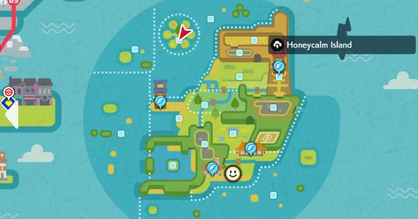 Isle Of Armor | Honeycalm Island (Wild Area) - Pokemon Spawn Location | Pokemon Sword and Shield - GameWith