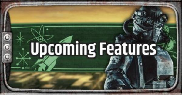 Fallout 76 | Upcoming Features & Fixes (Updated Dec. 13, 2018)