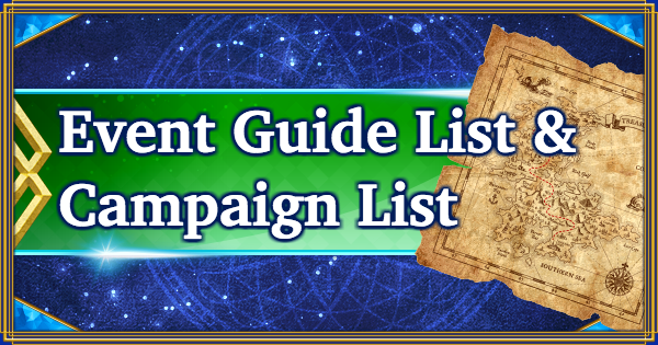 FGO | Event & Campaign List - the latest FGO news | Fate