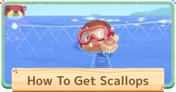 Animal Crossing | Scallop - How To Get & Price | ACNH - GameWith