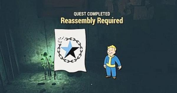 Fallout 76 | Reassembly Required - Quest Walkthrough