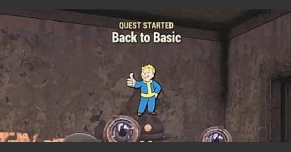 Fallout 76 | Back To Basic - Quest Walkthrough - GameWith
