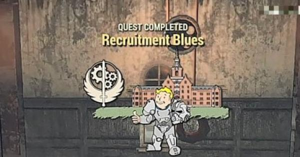 Fallout 76 | Recruitment Blues - Quest Walkthrough - GameWith