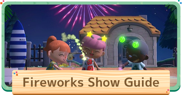 Fireworks Show - Event Time & Guide | Animal Crossing (ACNH) - GameWith