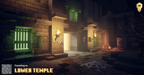 Minecraft Dungeons   Lower Temple - Secret Level & How To Unlock   Jungle Awakens - GameWith
