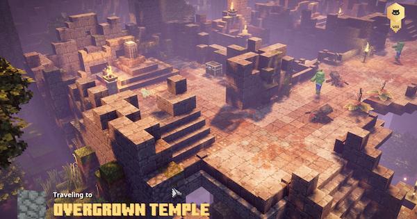 Minecraft Dungeons   Overgrown Temple - Secret Level & Unique Drops   Jungle Awakens - GameWith