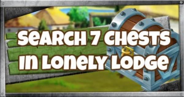 Fortnite | Lonely Lodge - Search 7 Chests Challenge (Week 6) - GameWith