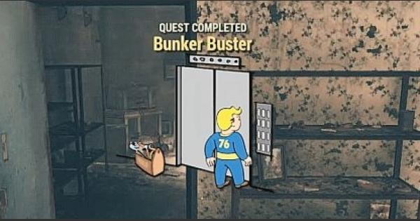 Fallout 76 | Bunker Buster - Quest Walkthrough