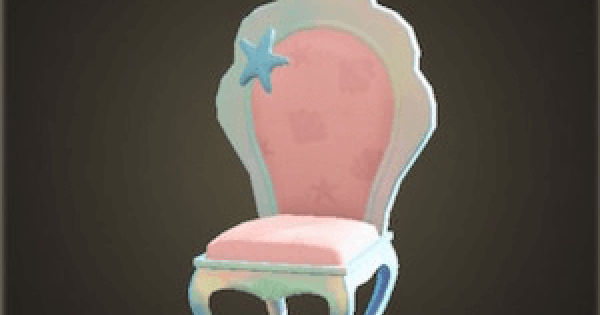 【Animal Crossing】Mermaid Chair - How To Get DIY Recipe & Required Materials【ACNH】 - GameWith
