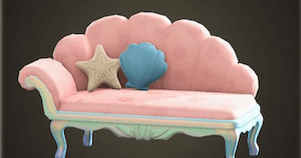 【Animal Crossing】Mermaid Sofa - How To Get DIY Recipe & Required Materials【ACNH】 - GameWith