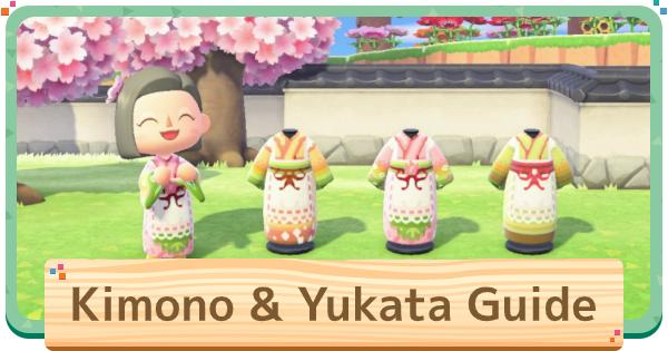 Kimono Designs & QR Codes - List Of Kimonos
