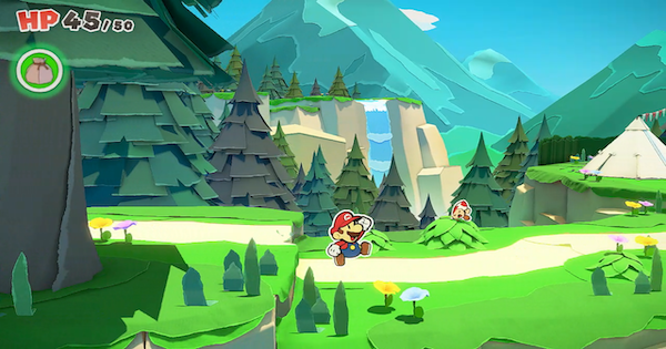 Whispering Woods | Toads & Collectibles | Paper Mario Origami King - GameWith