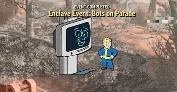 Fallout 76 | Enclave Event: Bots On Parade - Quest Walkthrough - GameWith