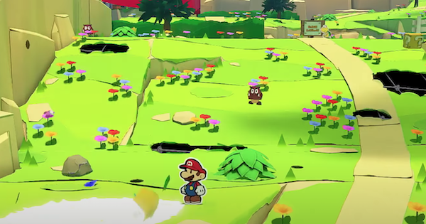 Picnic Road | Paper Mario: Toads & Collectible Treasures | Origami King - GameWith