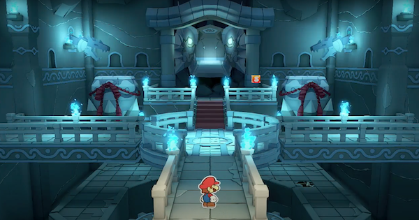 Water Vellumental Shrine - Paper Mario | Toads & Collectible Treasures | Origami King - GameWith