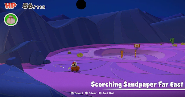 Scorching Sandpaper Far East | Toads & Collectibles | Paper Mario - GameWith