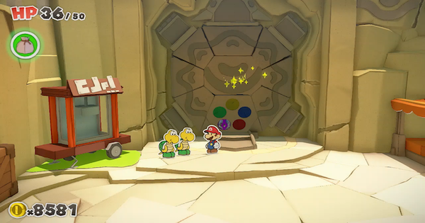Paper Mario | Shell Stone Locations - How To Find | Origami King - GameWith