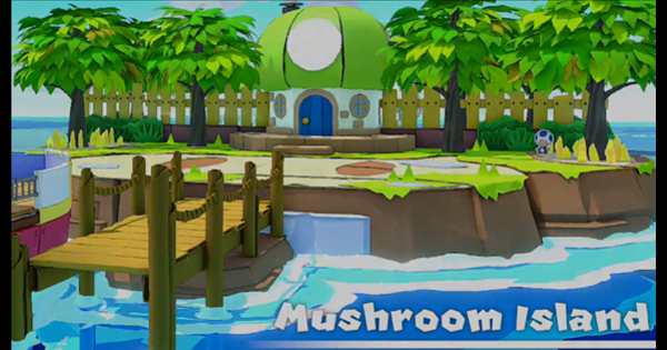 Mushroom Island - Paper Mario | Toads & Collectible Treasures | Origami King - GameWith