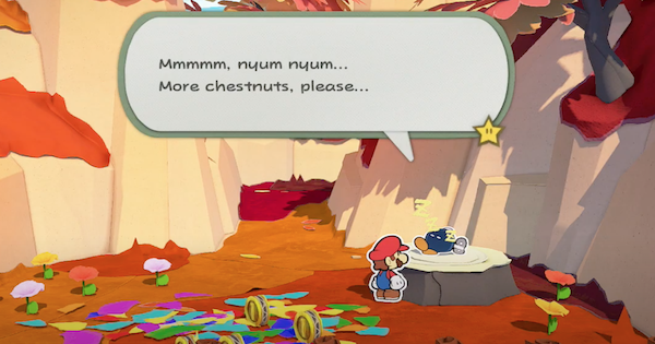 Paper Mario | Where To Find Bobby In Chestnut Valley | Origami King - GameWith