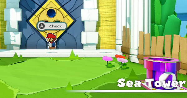 Sea Tower - Paper Mario | Toads & Collectible Treasures | Origami King - GameWith