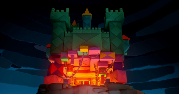 Origami Castle - Paper Mario   Toads & Collectible Treasures   Origami King - GameWith