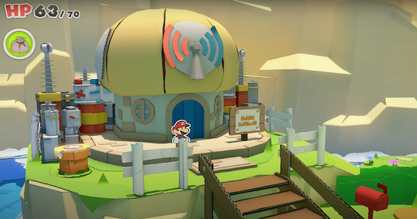 Paper Mario | Sensor Lab Locations - Fax Travel Guide | Origami King - GameWith