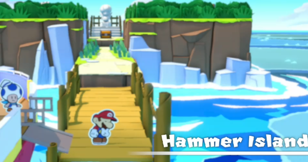 Paper Mario | Hammer Island - Toads & Collectible Treasures | Origami King - GameWith