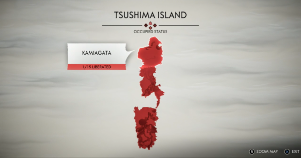 Ghost Of Tsushima | Mongol Camp Locations Map - Territory List & Liberate Guide - GameWith