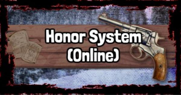 RDR2 | About Honor System (Online) | Red Dead Redemption 2