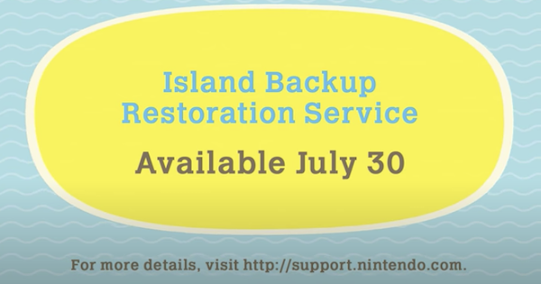 Island Backup Restoration Service - How To Use | Animal Crossing (ACNH) - GameWith