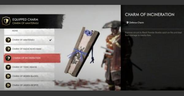 Charm Of Incineration - Location & Effects | Ghost Of Tsushima - GameWith