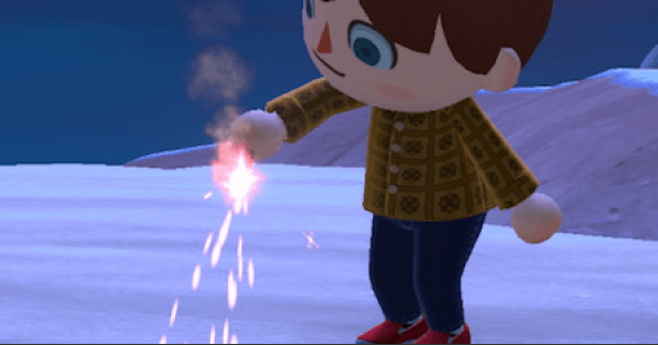 Red Sparkler - How To Get | Animal Crossing (ACNH) - GameWith