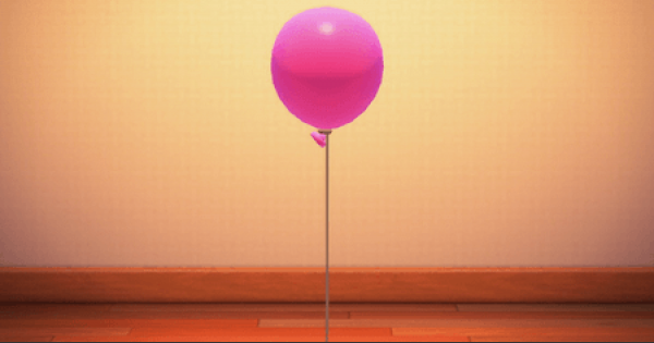 Pink Balloon - How To Get | Animal Crossing (ACNH) - GameWith