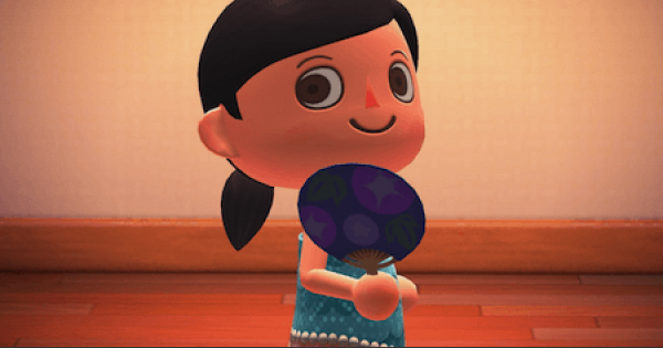 Uchiwa Fan - How To Get | Animal Crossing (ACNH) - GameWith
