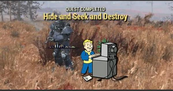 Fallout 76 | Hide And Seek And Destroy - Quest Walkthrough - GameWith