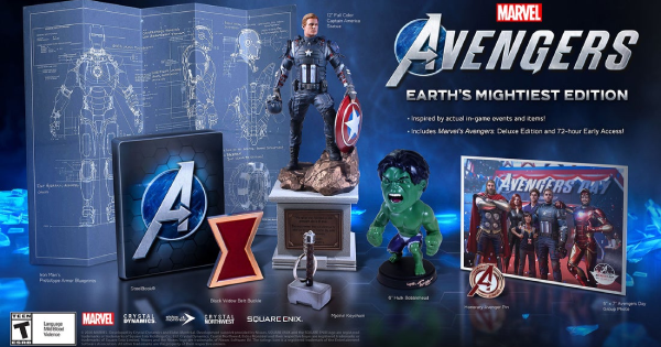 Marvel's Avengers | Package Edition - Pre Order Bonus & Content - GameWith