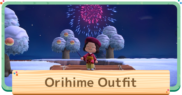 Orihime Outfit - How To Get | Animal Crossing (ACNH) - GameWith