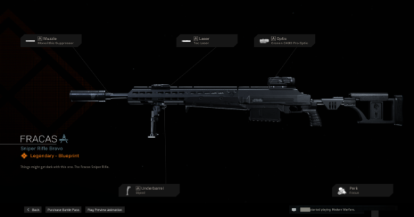 Warzone   Fracas Sniper Rifle  Blueprint - Stats & How To Get   Call of Duty Modern Warfare - GameWith