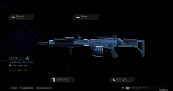 Warzone | Tarpon LMG Blueprint - Stats & How To Get | Call of Duty Modern Warfare - GameWith