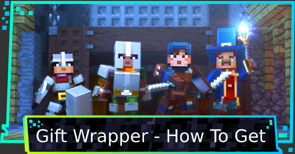 Gift Wrapper - How To Get | Minecraft Dungeons - GameWith