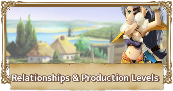 Relationships & Production Levels Guide | FFCC (Final Fantasy Crystal Chronicles Remastered) - GameWith