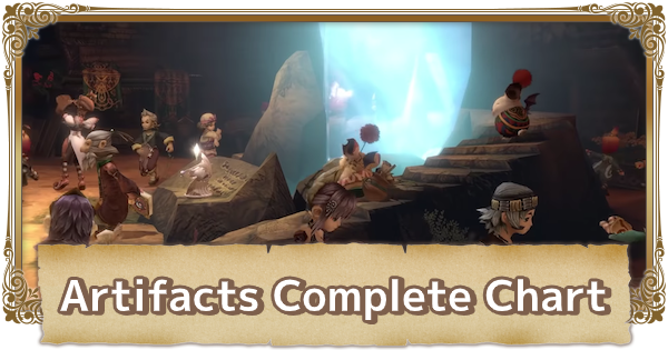 Artifact Guide - All Artifacts Complete Chart | FFCC (Final Fantasy Crystal Chronicles Remastered) - GameWith