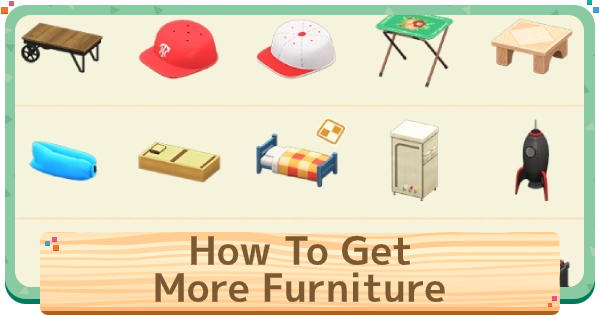 ACNH | How To Catalog Items & Get More Furniture | Animal Crossing - GameWith