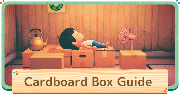 ACNH | Cardboard Box - How To Get & Uses | Animal Crossing - GameWith